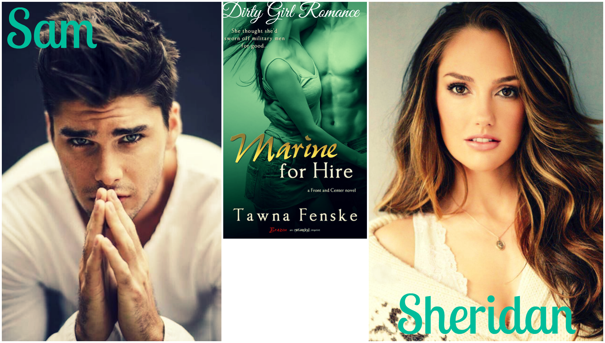 Marine for Hire (Front and Center) by Tawna Fenske