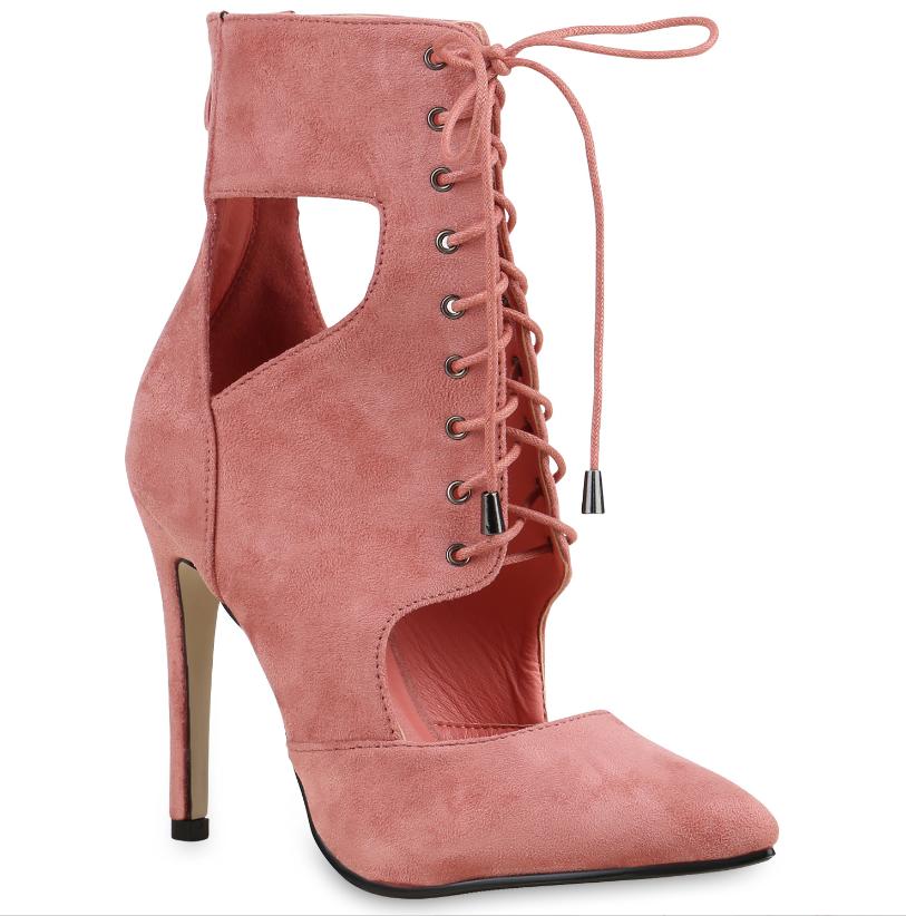 Schnurpumps Und Weitere Modelle Jetzt Auf Stiefelparadies De Entdecken Laceups Pumps Schuhe Online Schuhe Online Shop