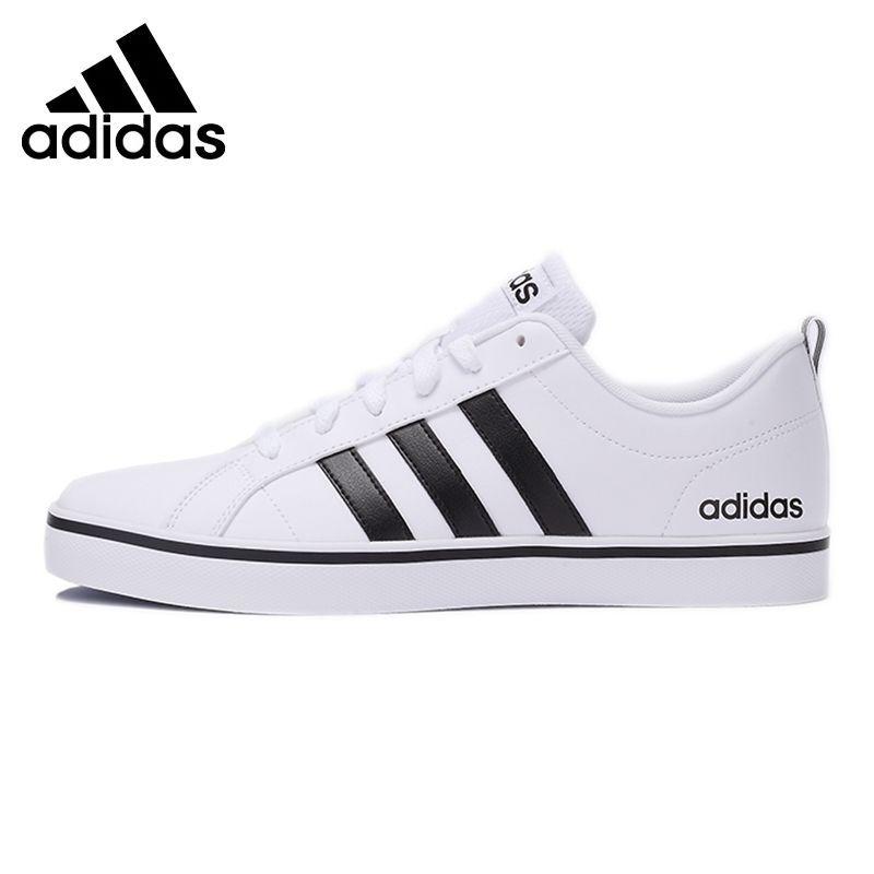les nouvelles adidas bleu blanc et noir noir noir néo - vs rythme fashion baskets 556000