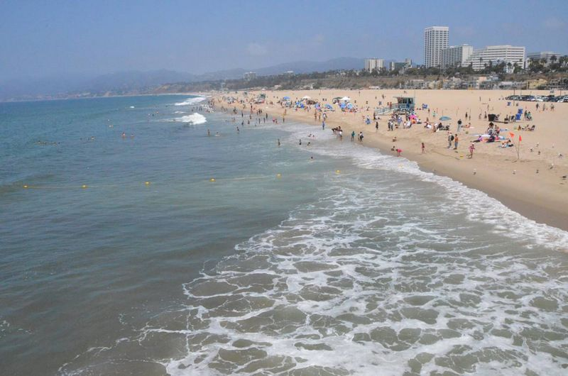 Yes This Is A Photograph Of Santa Monica Beach But This Is October Beach Weather Extends Throughout The Year In Adventure Tours Beach Weather Luxury Tours