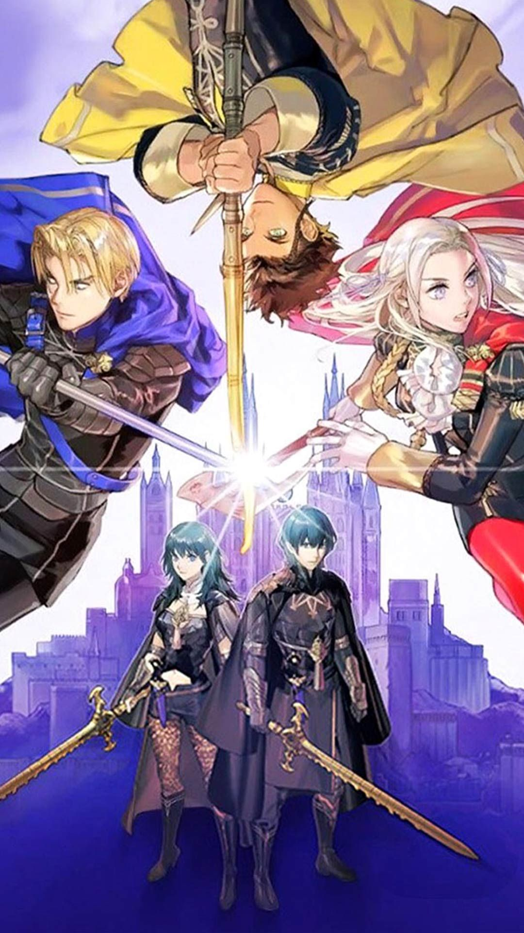 Fire Emblem Three Houses Wallpaper For Android Mobile Phone And Iphone Free Download Hd Image With Sce Fire Emblem Wallpaper Fire Emblem Characters Fire Emblem