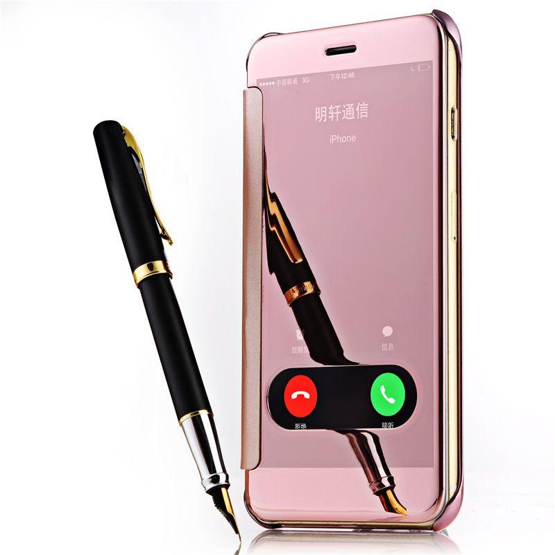 Pour coque iphone 6 s accessoires 5s 6 6 s plus 7 plus de for Coque iphone 6 miroir