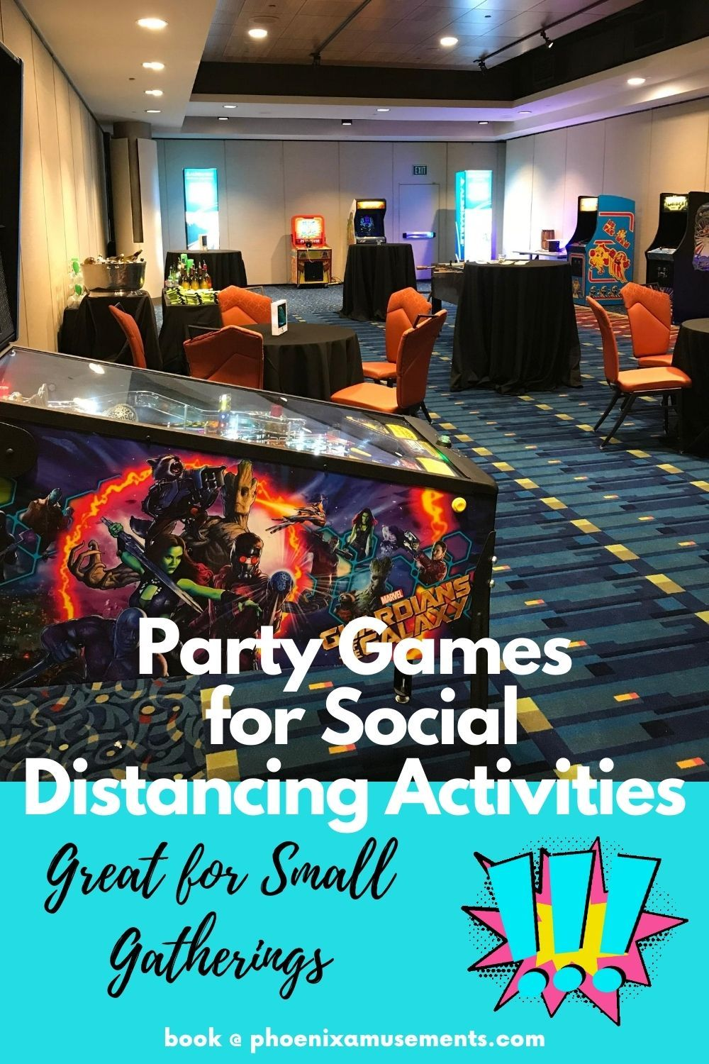Party Games for Social Distancing Activities. Need Ideas for small gatherings or parties? Check out some of these party game suggestions for fun activities!  #partyplanners #eventideas #funactivities #fungames #eventinspiration #corporateevents #eventservices #eventprofs #eventplanning #eventplanner