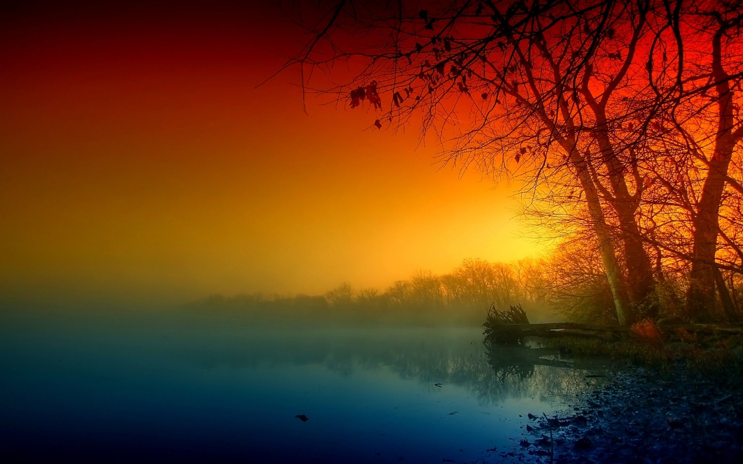 Colorful Sunset Scenery Jpg 2560 1600 Scenic Pictures Scenic Wallpaper Hd Nature Wallpapers