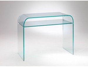 Consolle In Vetro Per Ingresso.Consolle In Vetro Curvato Console Piano Curved Glass