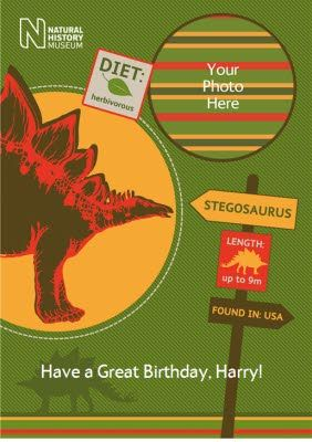 Get A Photo With The Dinosaurs Photo Upload Cards Perfect For The