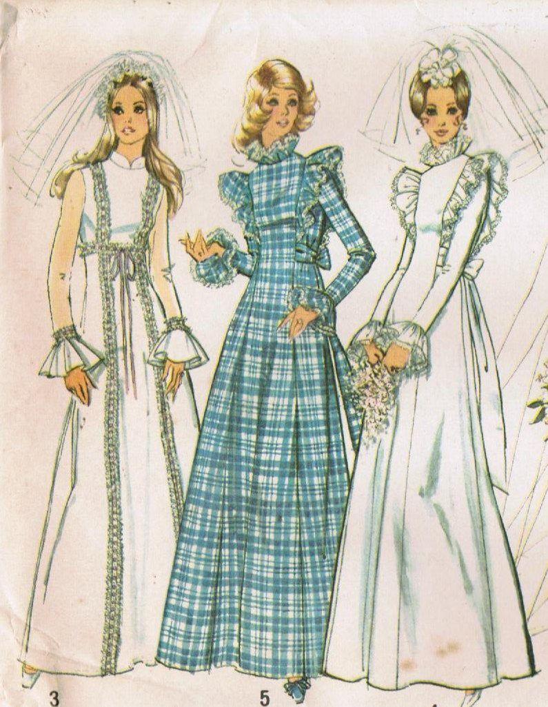 1970s Simplicity 5313 UNCUT Vintage Sewing Pattern Misses