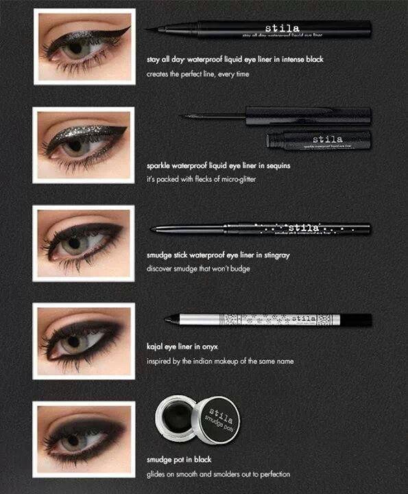 Stila eyeliners