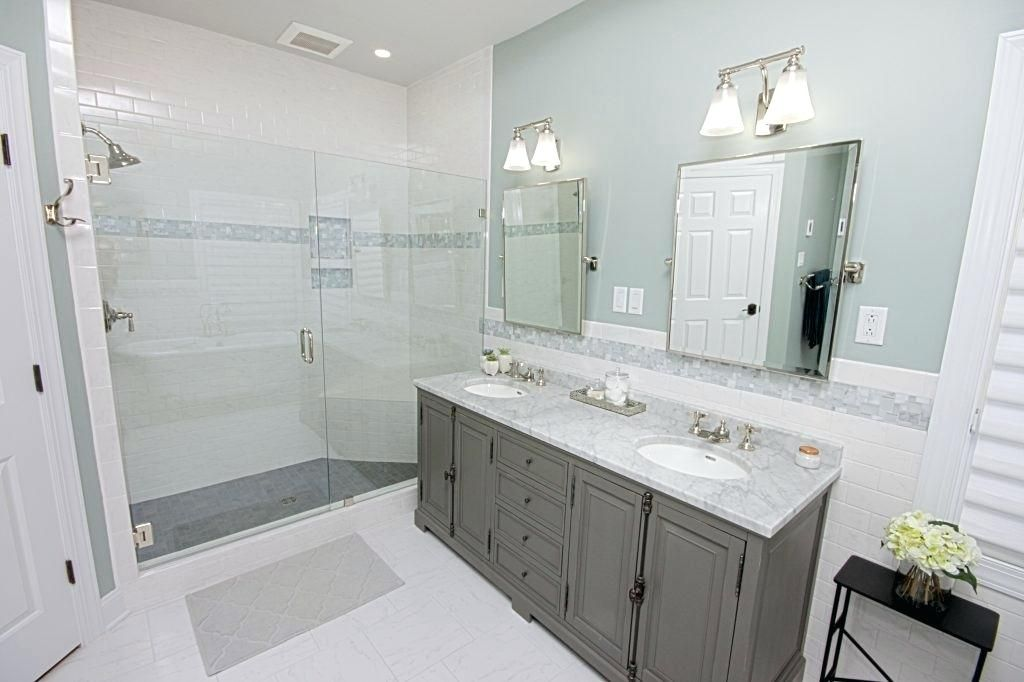 Master Bathroom Floor Plans Shower Only Remodel No Tub Walk In
