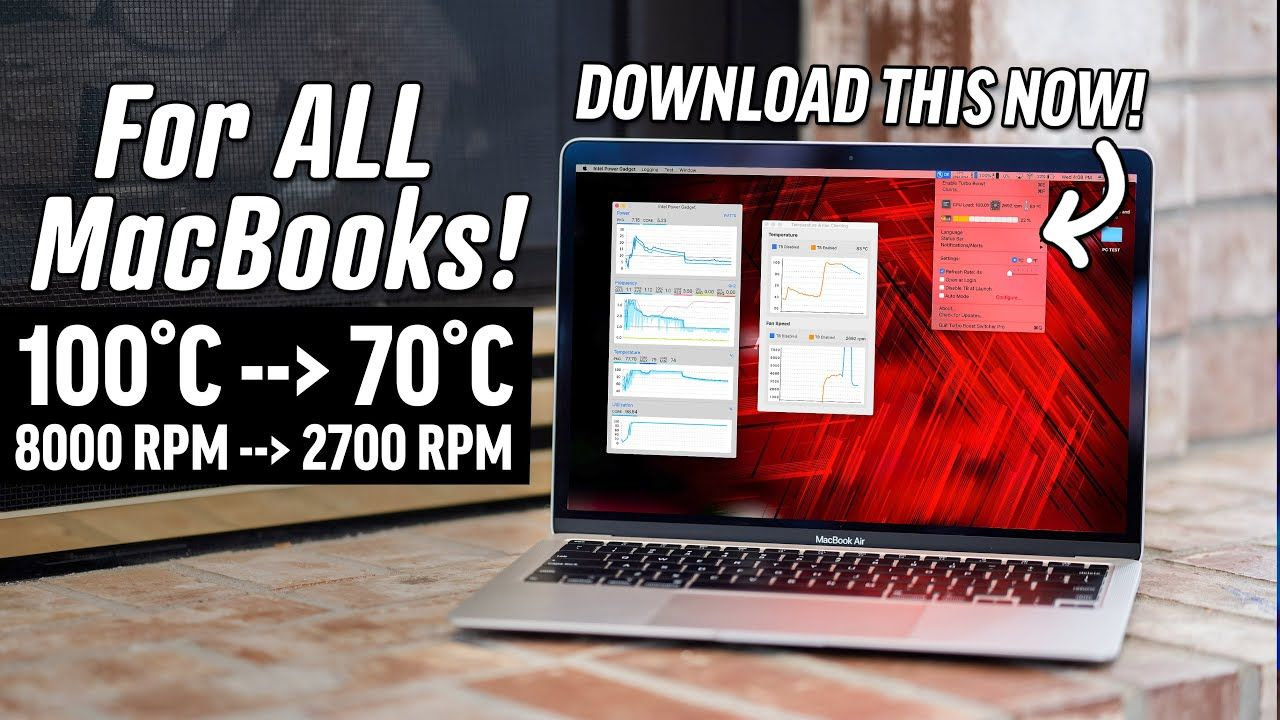 How to get your MacBook to run Cooler and Quieter!