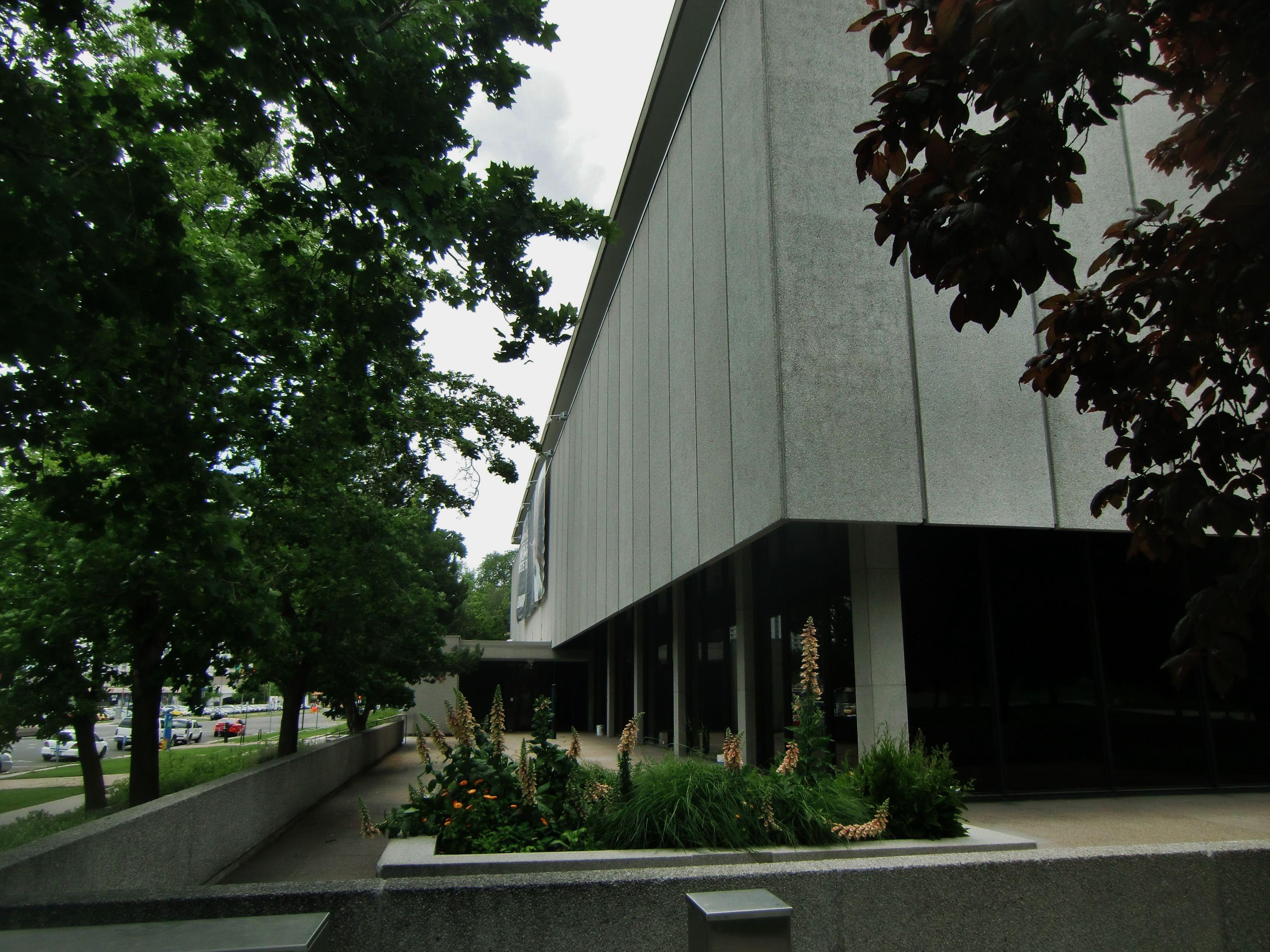 Leonardo museum old salt lake city library building