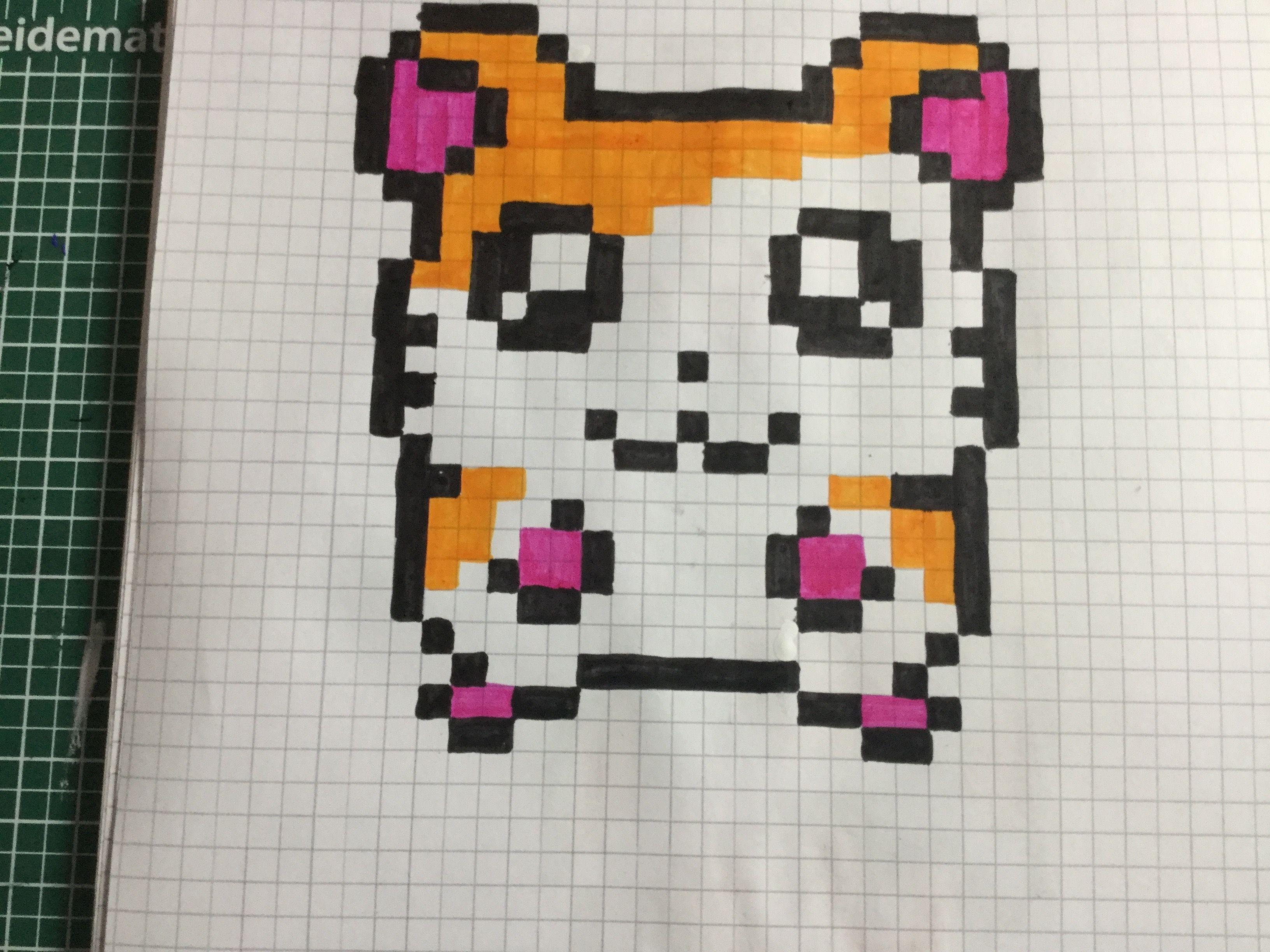 Pin Von Rebbsi Auf Pixel Art Muster Malen 11