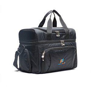 Large Cooler Cool Bag Picnic Camping Food Drink Lunch Pocket Zip Leakproof Liner