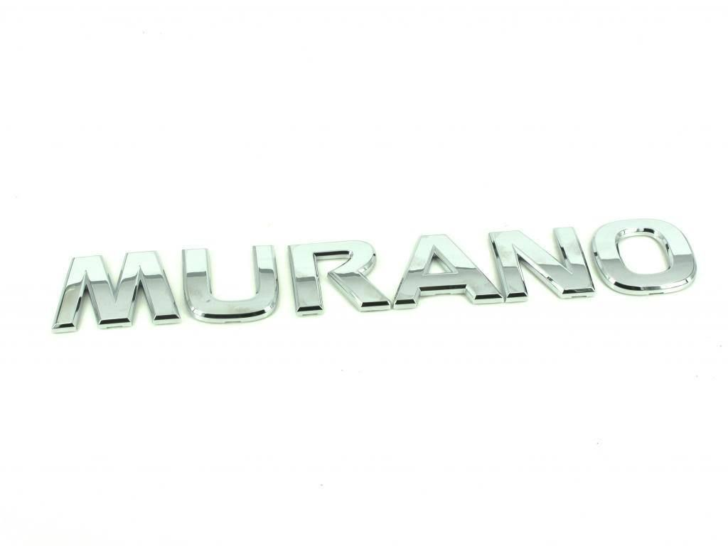 20092014 Nissan Murano Tail gate chrome Emblem NamePlate