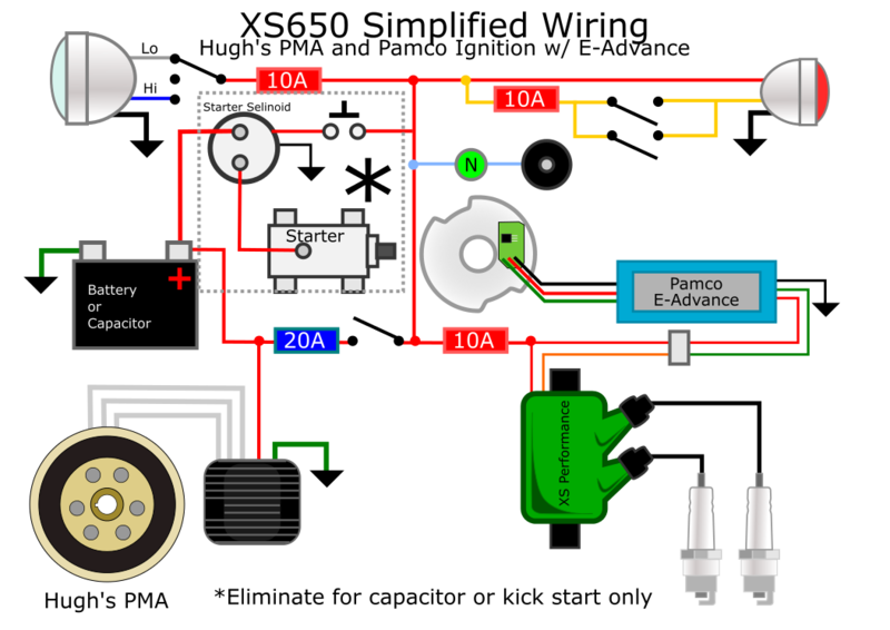 Img Xs650 Diagram Motorcycle Wiring