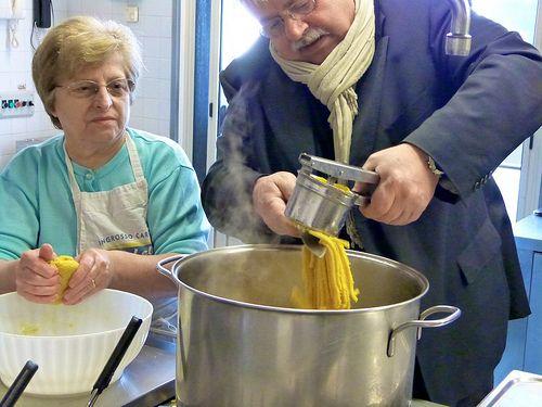 Making Pasta with Nonna Fernanda and la Sfoglina | Punk Domestics