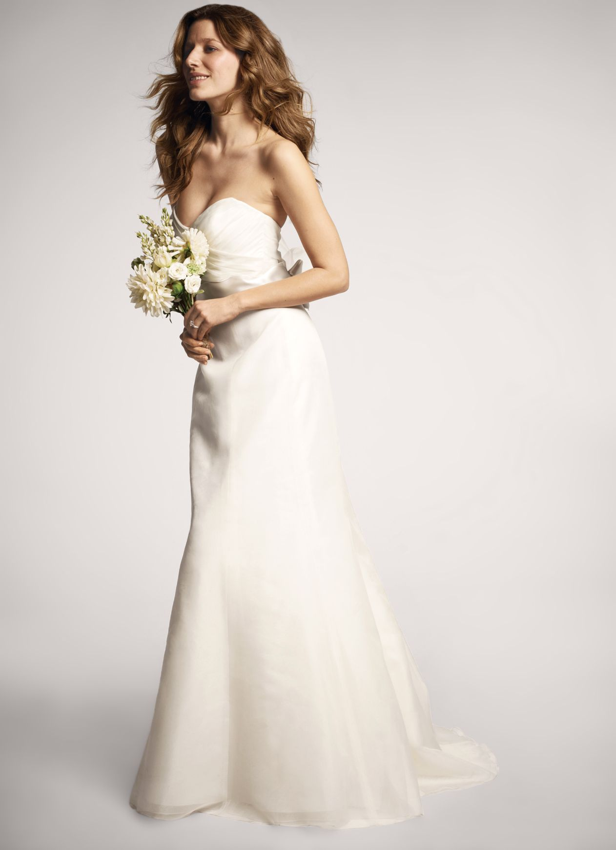 NOUVELLE Amsale soft trumpet gown, exclusively at Nordstrom #wedding ...