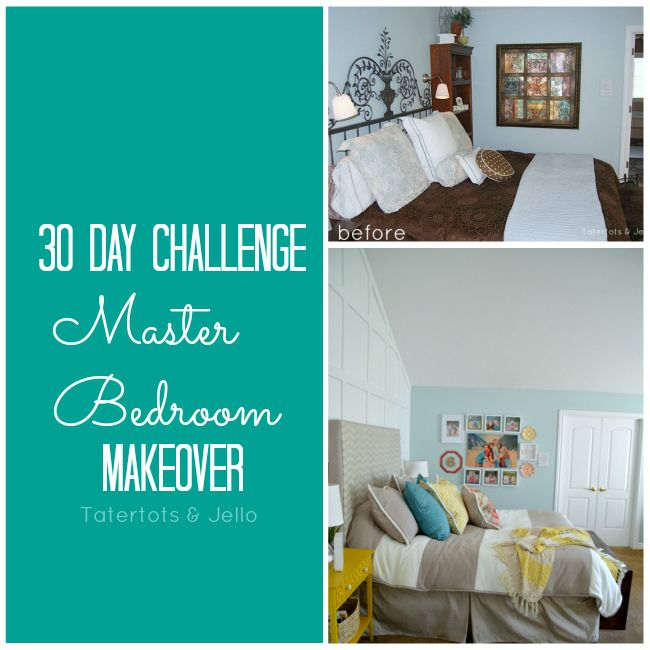 30 Day Challenge Reveal  Master Bedroom Makeover is part of bedroom Makeover Organization - 30 Day Bedroom Makeover Challenge  Master Bedroom Decor  see how you can make over your bedroom on a budget with this inspiring, creative redo