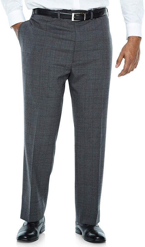 21e13613f53d6 CLAIBORNE Claiborne Checked Classic Fit Suit Pants - Big and Tall ...