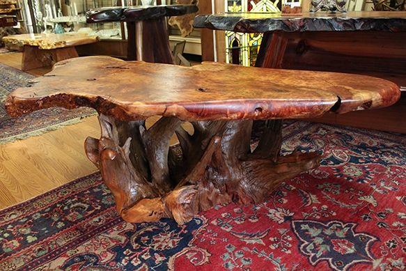 Burl Wood Coffee Table | Burl Wood Gallery