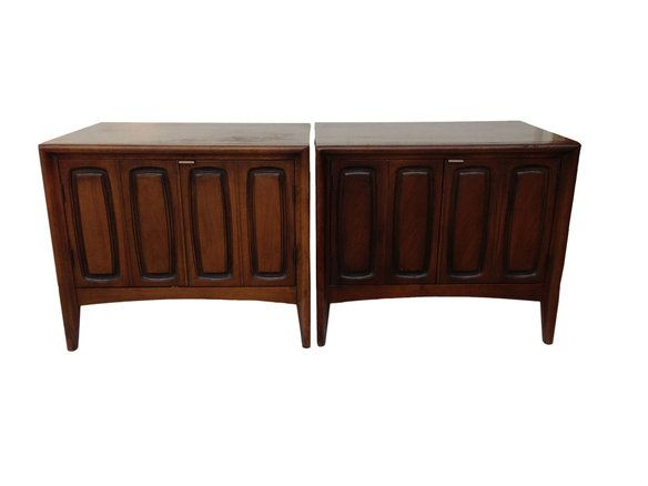 SOLD Pair Broyhill Emphasis Nightstands / Cabinets In Annapolis, MD, USA ~  Krrb