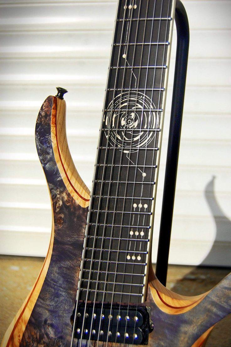 Skervesen Guitars Fretboard Inlay Amazing Guitar Inlays
