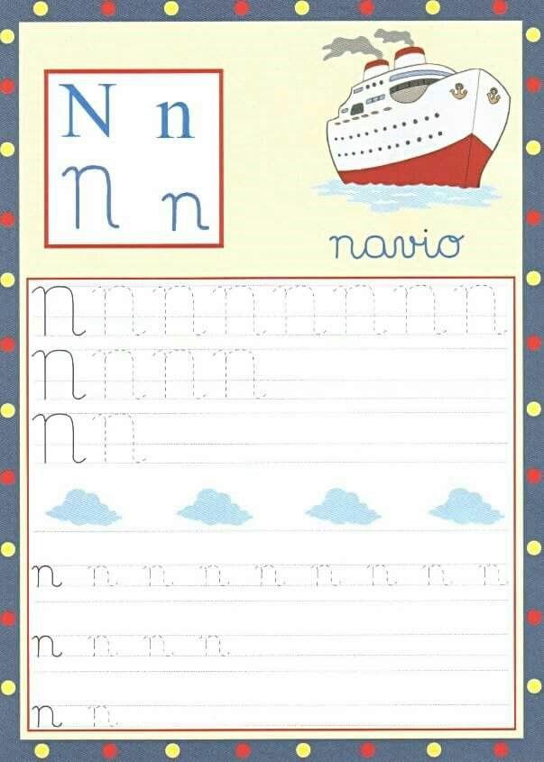 Alfabeto Cursivo Pontilhado Com Imagens Atividades De