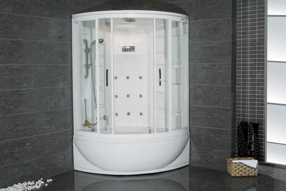 Julius Steam Shower With Whirlpool Bathtub Tub Shower Combo Bathroom Shower Faucets Shower Tub