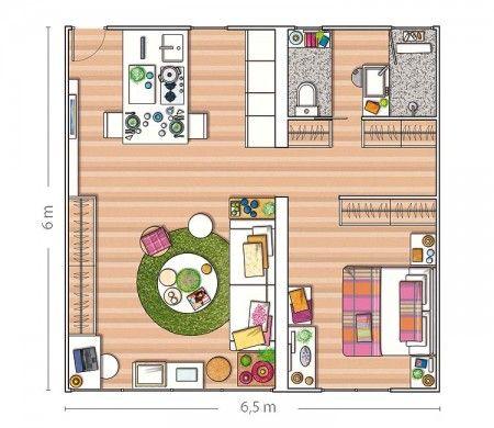 50 plans en 3D du0027appartements et maisons Sims house, Small house - programme pour plan de maison