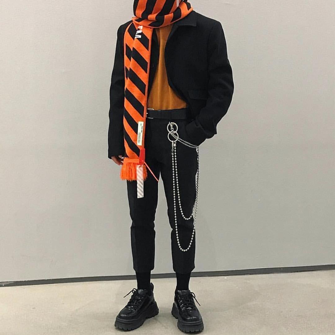 OffWhite scarves NCLGallery Mens fashion white, Mens