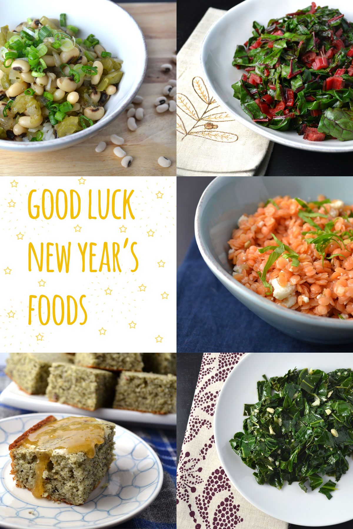 Good Luck Foods For The New Year Food Lucky Food New Years Day Meal