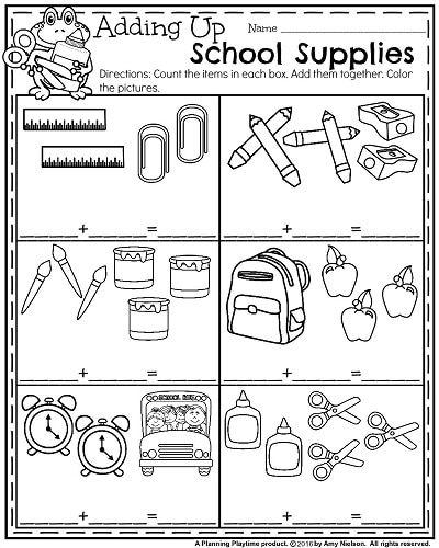 Back to School Kindergarten Worksheets | Pinterest | Preescolar ...