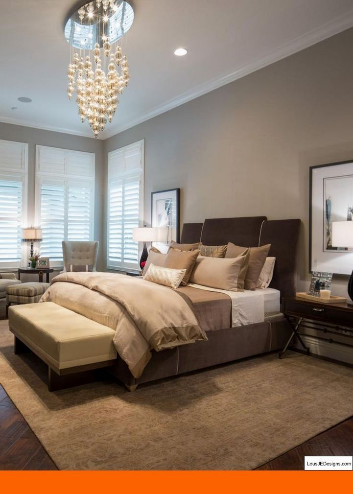 Master Bedroom Paint Colors 2017 And Bedroom Decorating Ideas With Pine Furniture Bedroomdesigns Brown Bedroom Decor Brown Master Bedroom Luxurious Bedrooms