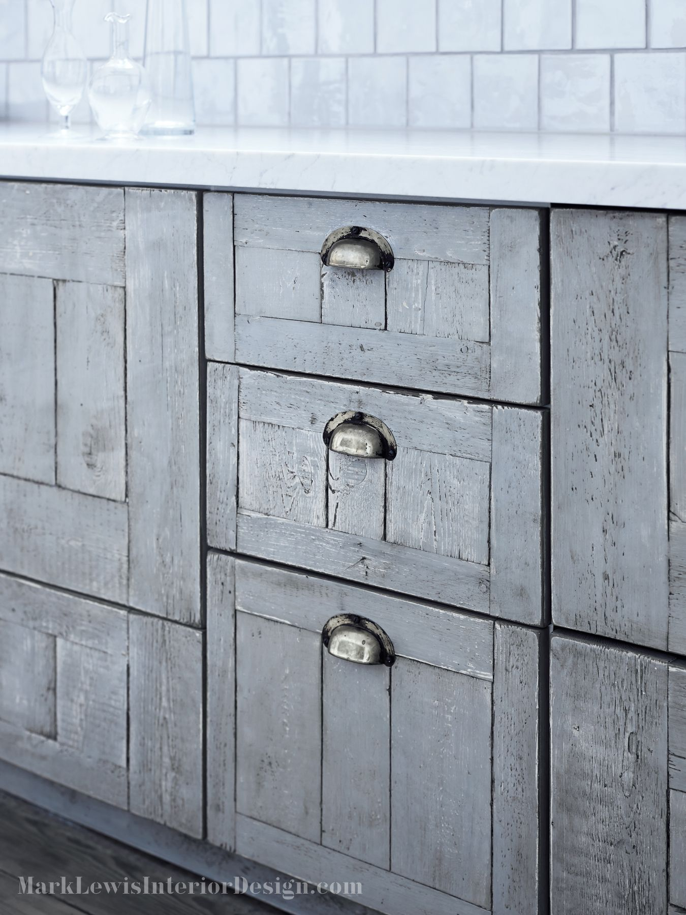 Bespoke kitchen drawers dressed in our own D handles - Dartmouth ...