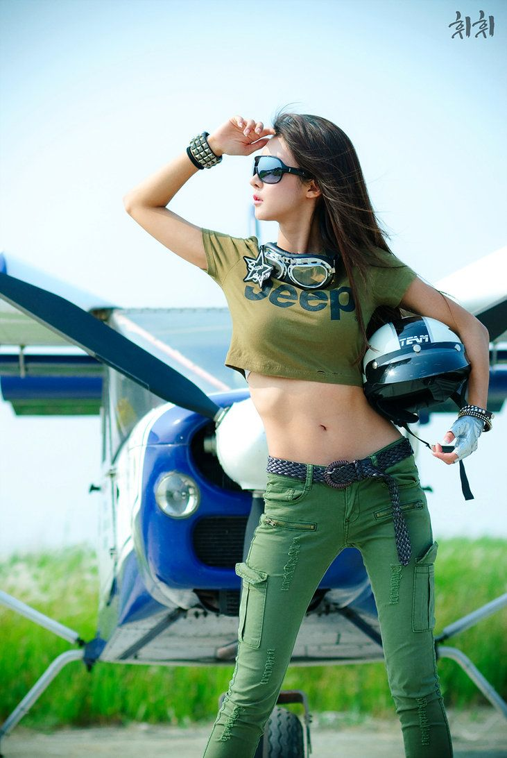girl on the front of cessna random thoughts pinterest airplane