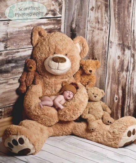 64+ trendy ideas photography baby newborn teddy bears
