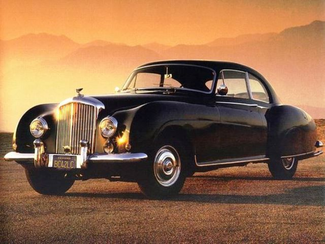 1954 Bentley Mulliner R Type Continental Fastback Coupe Classic Cars Rolls Royce Bentley