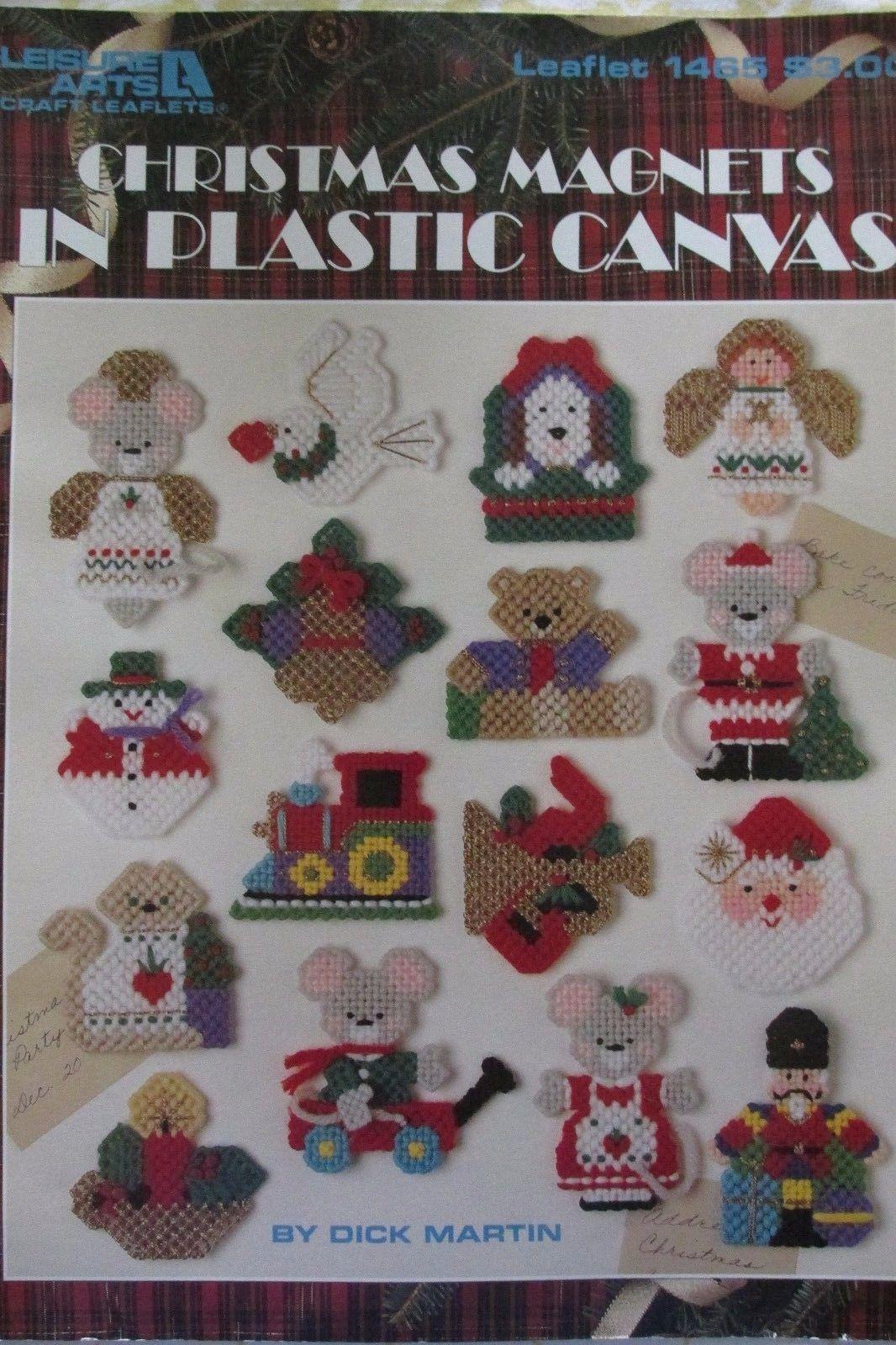 Leisure arts dick martin plastic canvas designs