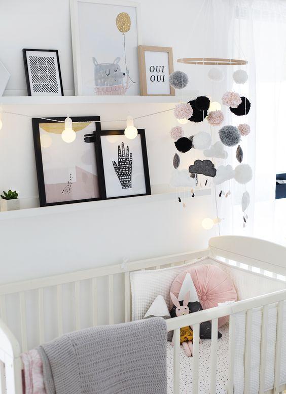 Kinderzimmer kinderzimmer baby schlafzimmer for Skandinavische kinderzimmer