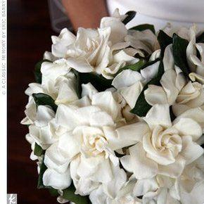 Gardenia Wedding Bouquets