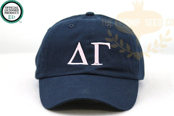 College team hat Monogram hat Sorority hat Baseball cap
