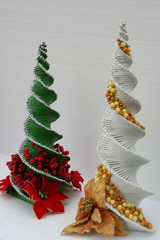 d52576d5a vianočný stromček v mojom prevedení:-), Papierové pletenie   Artmama.sk