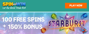 SpinAndWin-100-Spins-Starburst-New