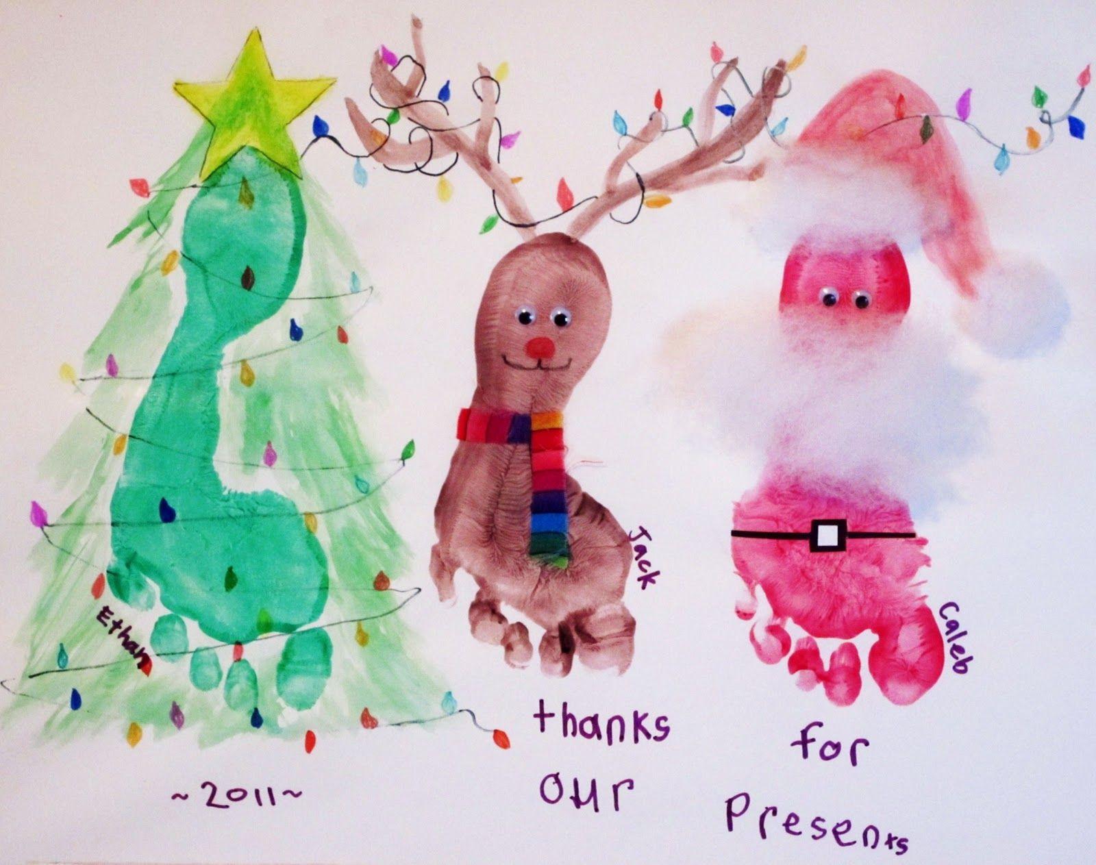 Awesome Kid Christmas Card