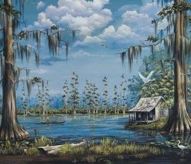 Lake Maurepas Louisiana Lake Near Tickfaw River And Manchac And
