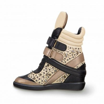 outlet 2014 outlet buy Monika Chiang Wedge High-Top Sneakers tOuU5bMF1