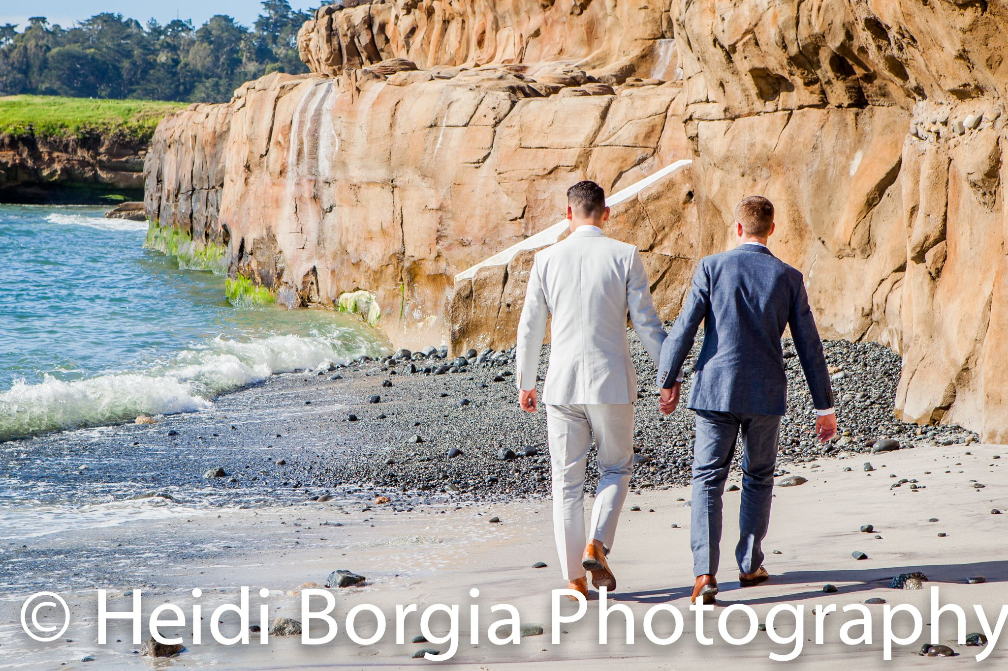 Coastal Photos- Pebble Beach Resort, beach club beach. http://www.heidiborgiaphotography.com/