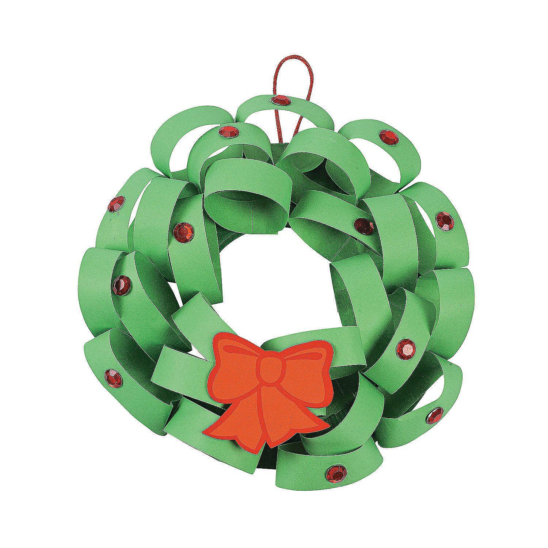 Loopy Christmas Wreath Craft Kit