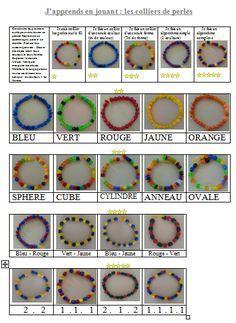 collier de perles maternelles