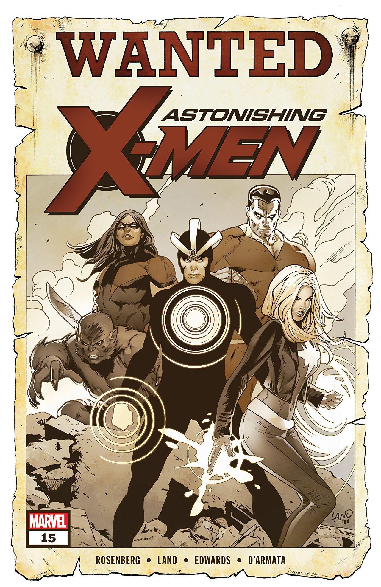 Astonishing X Men Vol 4 15 X Men Comics Comic Books